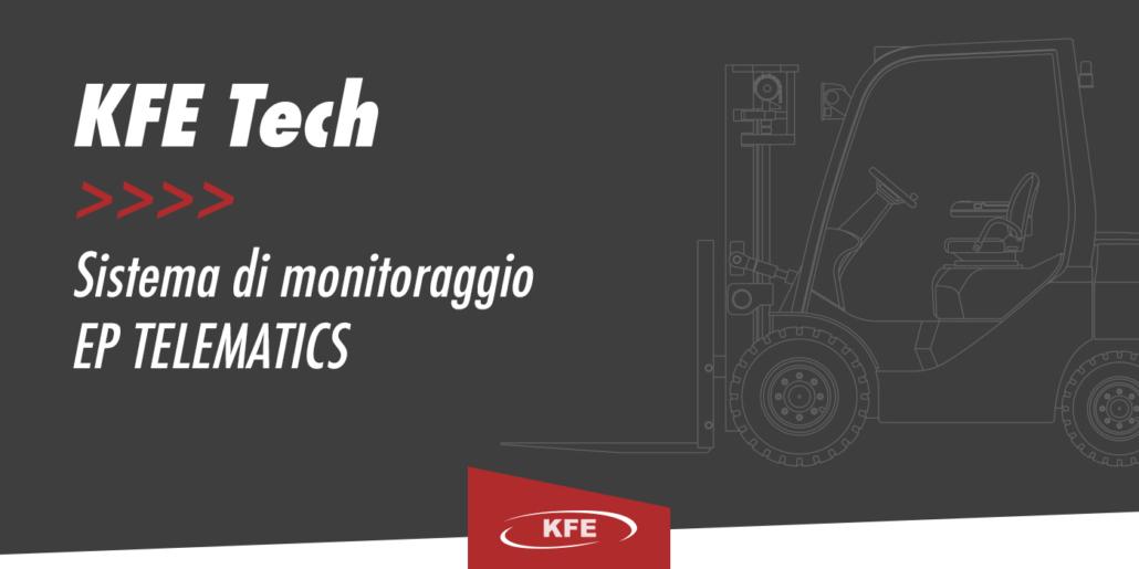 EP Telematics: la rivoluzione nel noleggio carrelli elevatori
